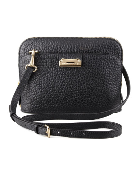 a14d6393dd01 Burberry Pebbled Leather Crossbody Bag