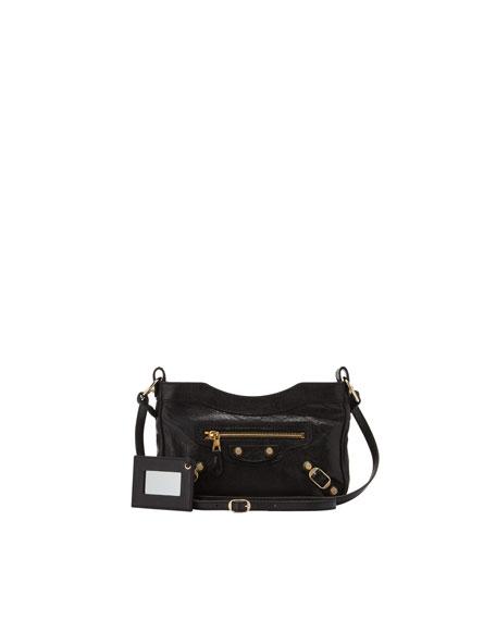 b1ceb8e20 Balenciaga Giant 12 Golden Hip Crossbody Bag, Black