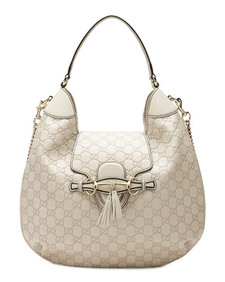 044d0548ade0 Gucci Emily Guccissima Leather Hobo Bag