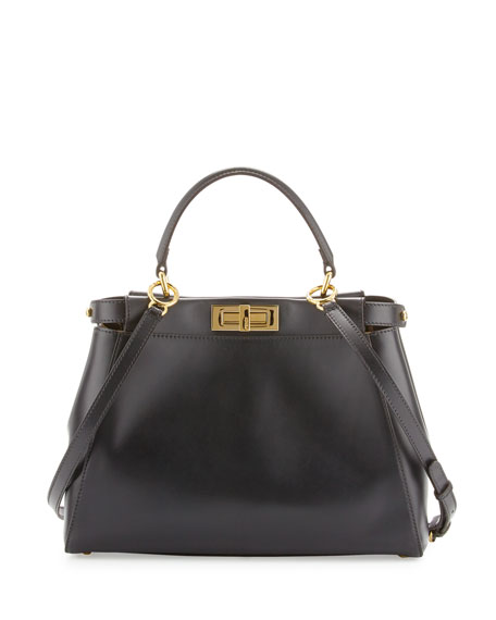 Peekaboo tote bag - Black Fendi cfsk2