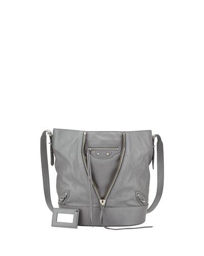 Papier Drop Bucket Bag, Gray