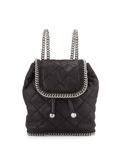 Falabella Mini Quilted Backpack