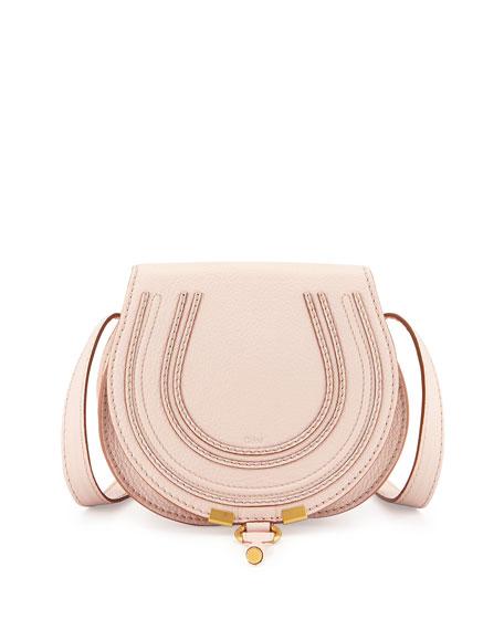 92425205ef5 Chloe Marcie Small Crossbody Bag, Nude Pink