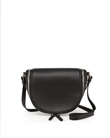 2defae3143f0 Burberry Small Leather Zip Crossbody Bag