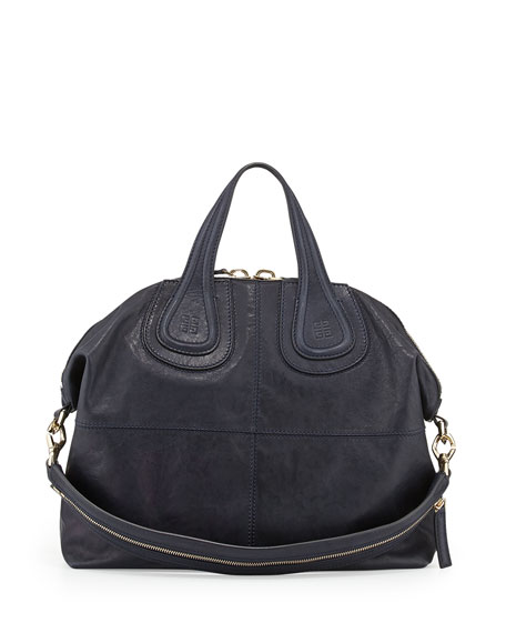 bcff8b0c8a Givenchy Nightingale Medium Leather Satchel Bag