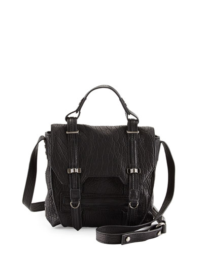 James Mini Crossbody Bag, Black