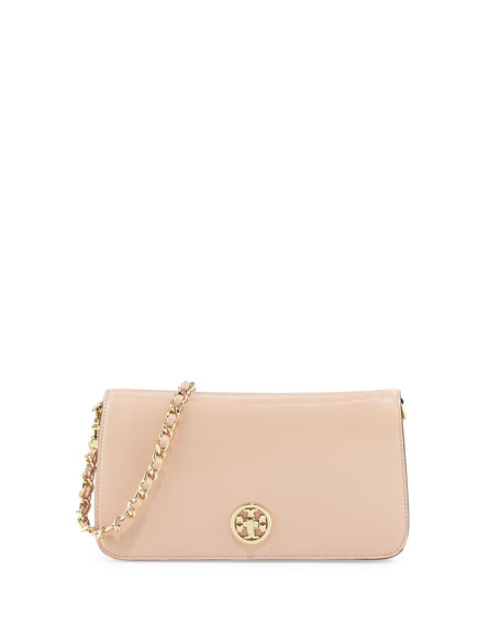 a33c449e68d2 Tory Burch Adalyn Pebbled Crossbody Clutch Bag