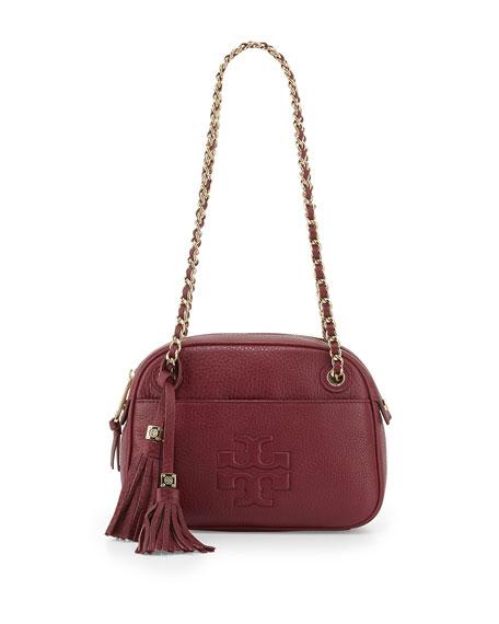 Thea Chain Strap Crossbody Bag Cabernet