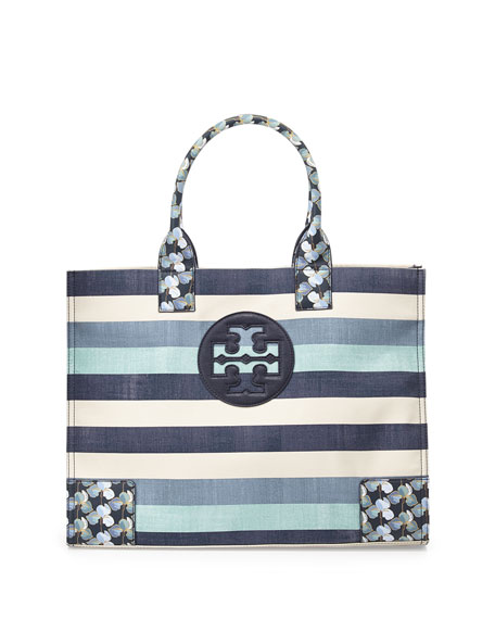 0820c5c23a03 Tory Burch Ella Canvas Tote Bag