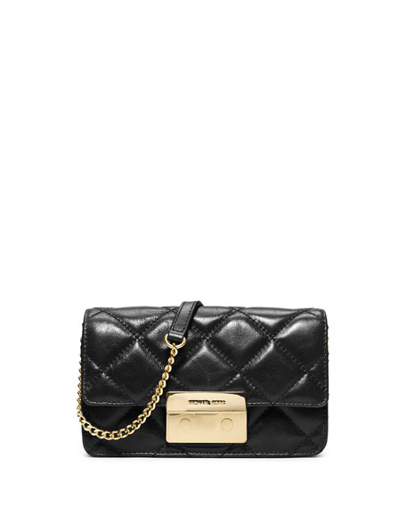 eb123c06535e MICHAEL Michael Kors Sloan Quilted Chain Crossbody Bag