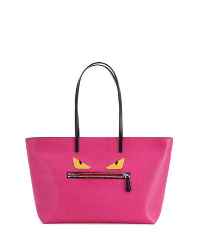Monster Tote Bag, Pink