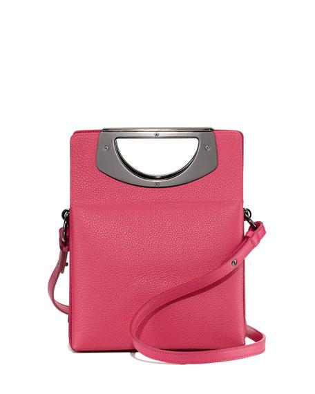 27cef56e1b7 Mini Passage Leather Crossbody Bag Pink