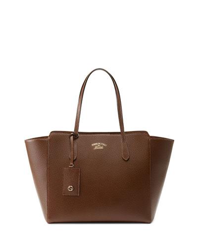 Swing Medium Tote Bag, Brown