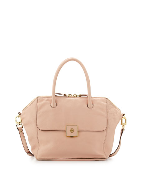 418959a68251 Tory Burch Clara Leather Satchel Bag