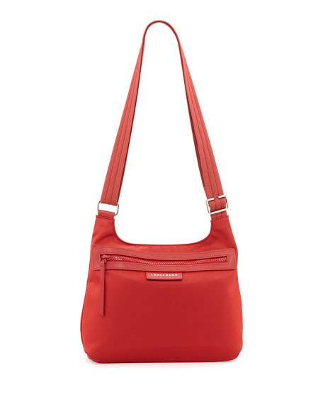 Le Pliage Nylon Crossbody Bag Poppy