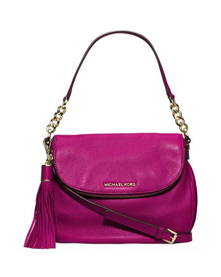 Bedford Medium Tassel Convertible Shoulder Bag Fuchsia
