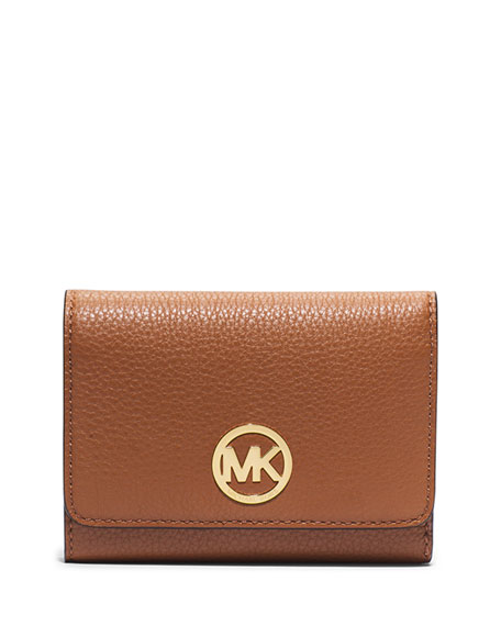 70bcd5fbbbc4 MICHAEL Michael Kors Fulton Medium Tri-Fold Wallet