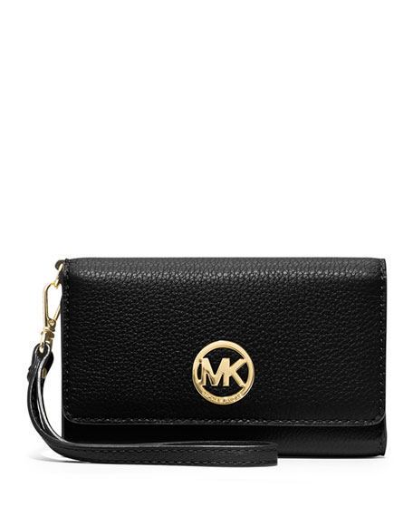 9dd5c0a0e7a6 MICHAEL Michael Kors Fulton Large Multifunction Smart Phone Wristlet Wallet