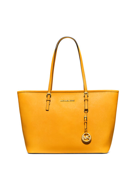 MICHAEL Michael Kors Jet Set Saffiano Travel Tote Bag 8290315edbcfd