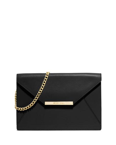 b0f2cd2c6e50 MICHAEL Michael Kors Lana Envelope Clutch Bag, Black
