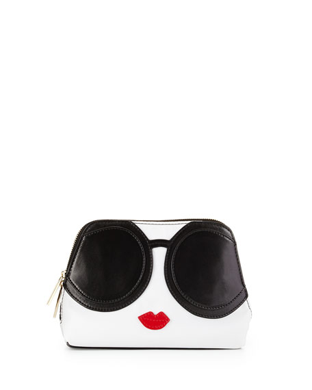 Outlet Online Shop Stace Face Cosmetic Bag Alice & Olivia Marketable Online Cheap Buy Cheap Sale Reliable Looking For CwQ35
