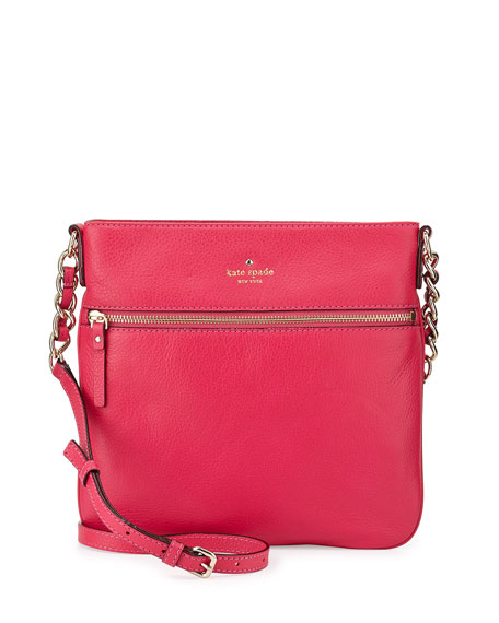 Cobble Hill Ellen Crossbody Bag Deep Pink