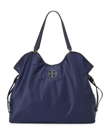 f46ac51654e Tory Burch Slouchy Nylon Tote Bag