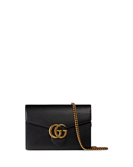 GG Mermont Leather Wallet - Black Gucci hfq1QXyrQx