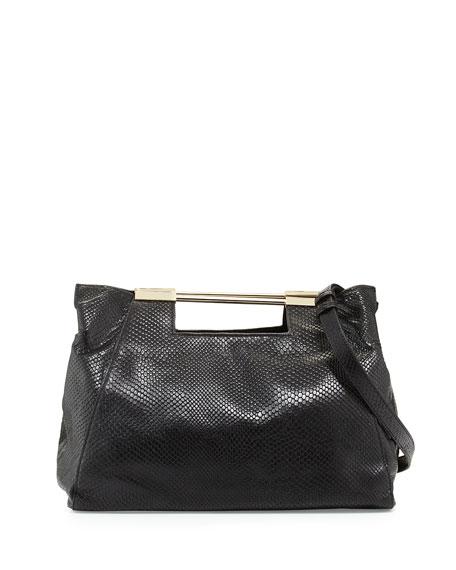 730de64f0c3e Halston Heritage Lizard-Embossed Leather Satchel Bag