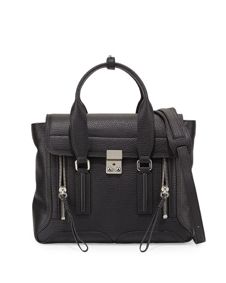 3.1 Phillip Lim Tote - Pashli Medium Satchel Bag /Nickel - - Tote for ladies Outlet With Mastercard 2xvZUQlL