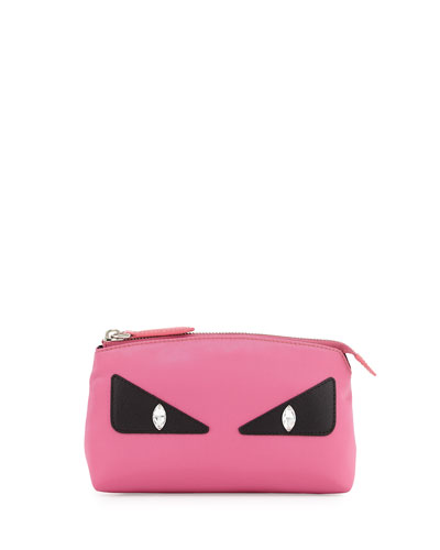 Monster Eye Large Beauty Case, Pink