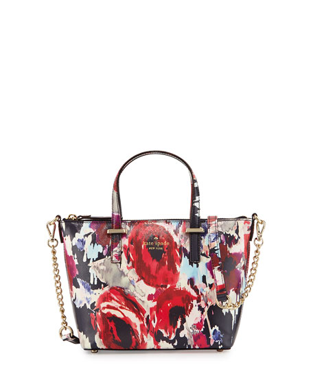 a88153fe0c89a kate spade new york cedar street floral-print harmony crossbody bag ...