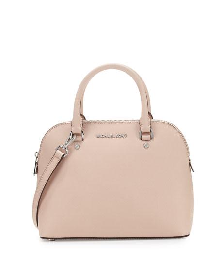 14cc6928c64c2 MICHAEL Michael Kors Cindy Medium Dome Satchel Bag