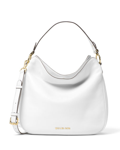 Heidi Medium Convertible Shoulder Bag Optic White