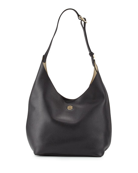 f259d3661cd4 Tory Burch Perry Leather Hobo Bag