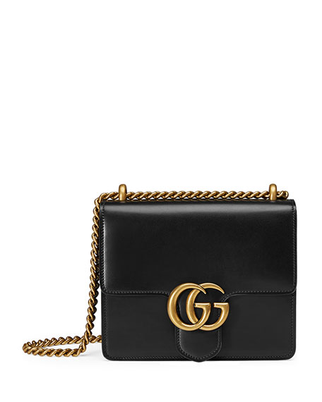 ede49f0339e Gucci GG Marmont Small Leather Shoulder Bag