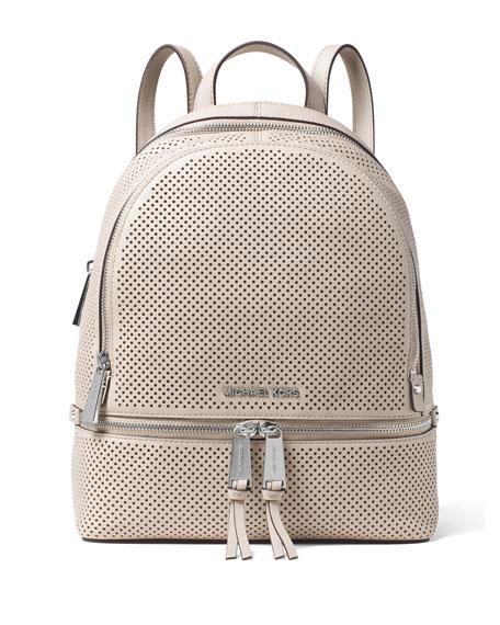 bd64699c8dc4 MICHAEL Michael Kors Rhea Medium Perforated Zip Backpack