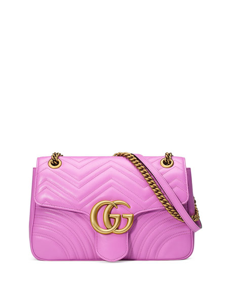 Pink GG Marmont 2.0 Pouch Gucci rCueLOma