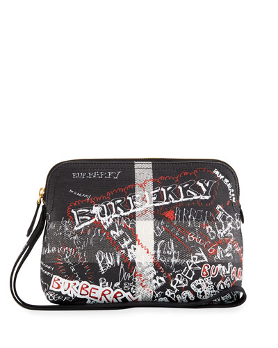 Sketchbook Series Logo Pouch Bag, Black