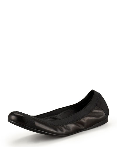 Stretch Ballerina Flat