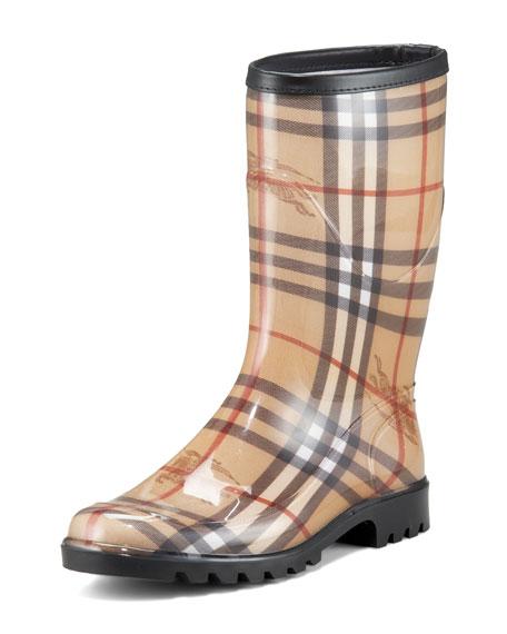 cheap low shipping fee big sale for sale Burberry Mid-Calf Rain Boots qUMc0