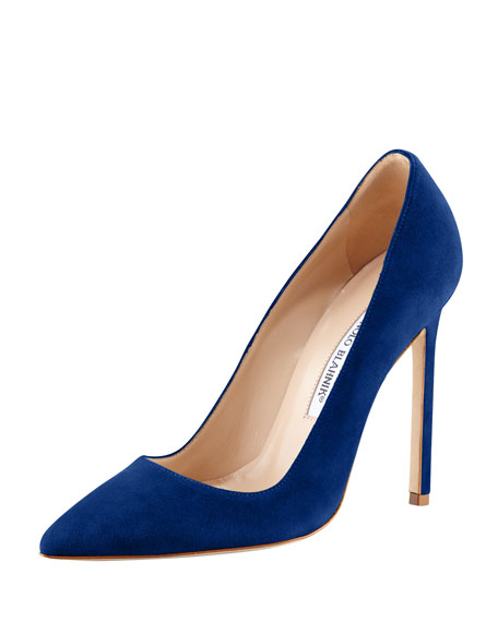 cheap price pre order order for sale Manolo Blahnik Suede Peep-Toe Pumps quality free shipping low price sale latest W9PbT