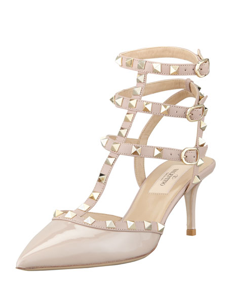 Valentino Patent Leather Sandals