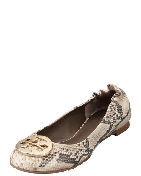 purchase for sale free shipping fashionable Tory Burch Python Ballet Flats pay with paypal 2015 new cheap online pay with paypal sale online peAJgrdC