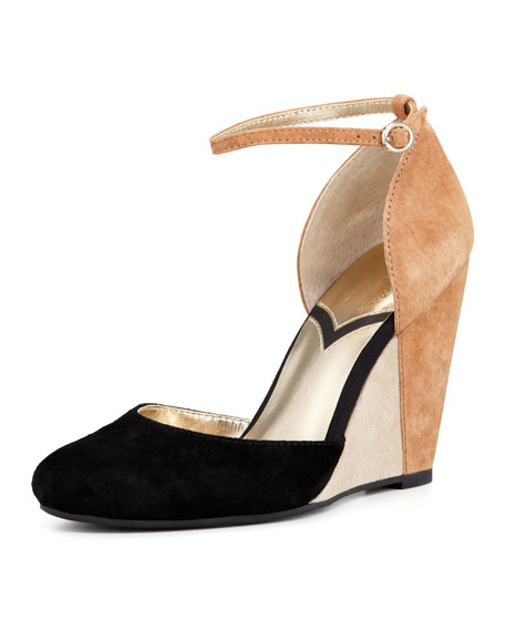 974d12fc33 Seychelles Fight Fire With Fire Colorblock Suede Wedge
