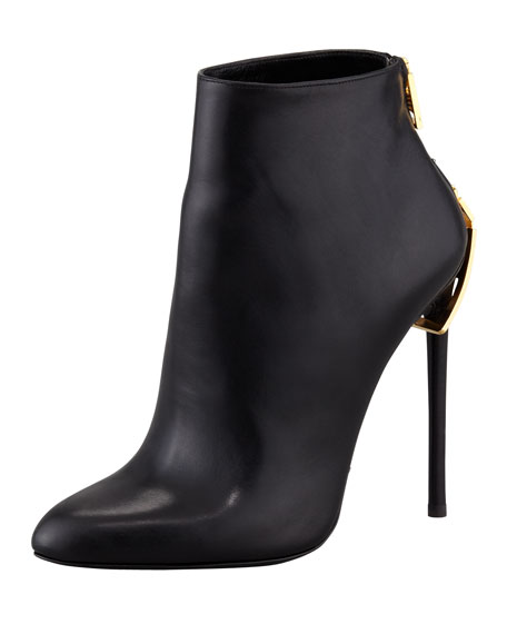 free shipping view Tom Ford Leather Pointed-Toe Booties free shipping great deals finishline online cheap sale free shipping get to buy cheap price DfIez4rBVD
