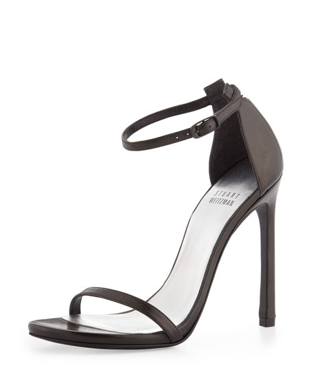 ee798446401e Stuart Weitzman Nudist Ankle-Strap Sandal