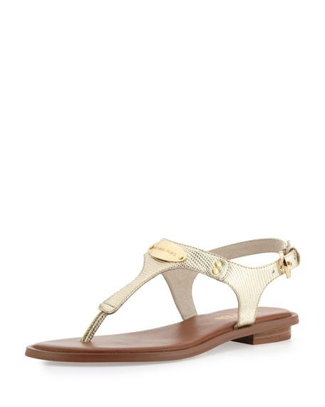 57d291e84a5f MICHAEL Michael Kors Plate Thong Sandal
