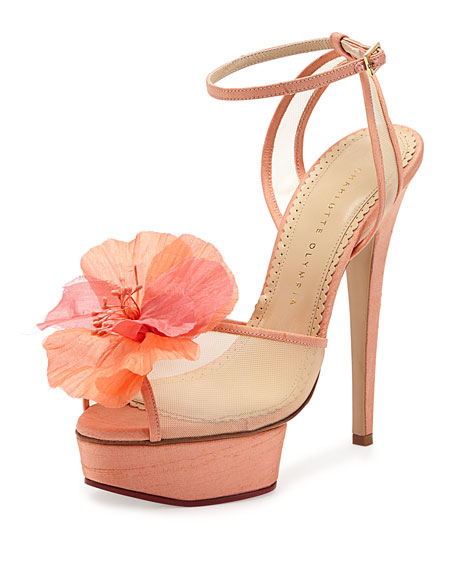 Charlotte Olympia Leila Platform Sandals buy cheap footaction 2015 new cheap price e2NmGc