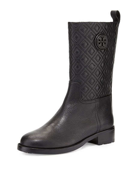 0253beb3f76 Tory Burch Marion Quilted Leather Boot